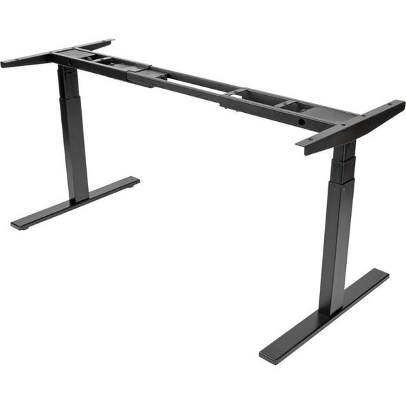 Tripp Lite Work Wise Sit Stand Adjustable Electric Desk Base for Standing Desk Black - WWBASE-BK