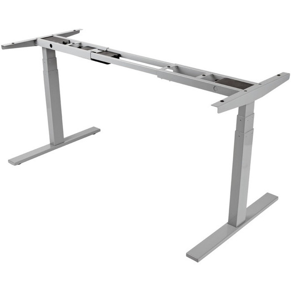 Tripp Lite WorkWise Sit Stand Adjustable Electric Desk Base for Standing Desk Gray - WWBASE-GY