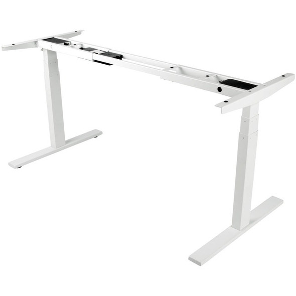 Tripp Lite WorkWise Sit Stand Adjustable Electric Desk Base for Standing Desk White - WWBASE-WH