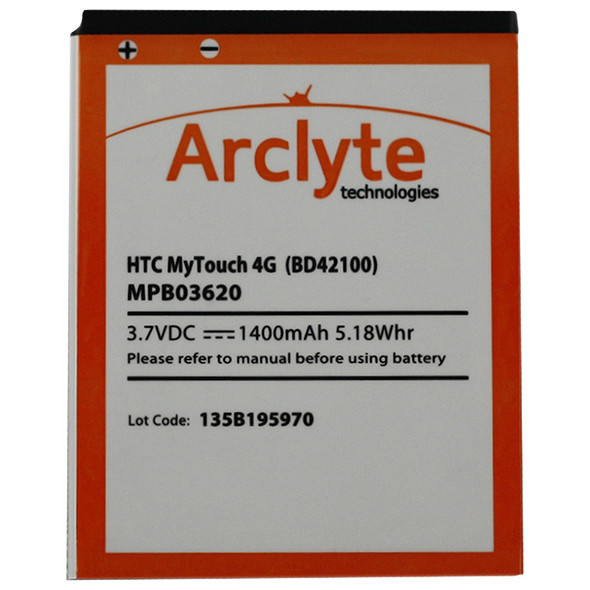 Arclyte HTC Batt Droid Thunderbolt; Incredible - MPB03620