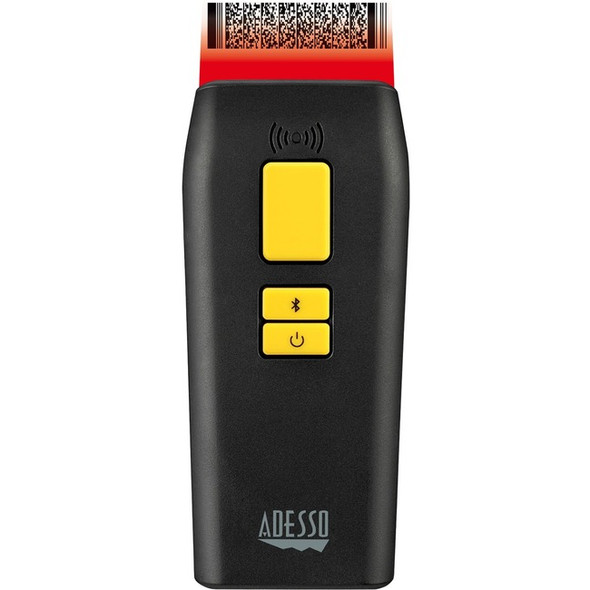 Adesso NuScan 3500TB Bluetooth Mobile Waterproof Antimicrobial 2D Barcode Scanner - NUSCAN 3500TB