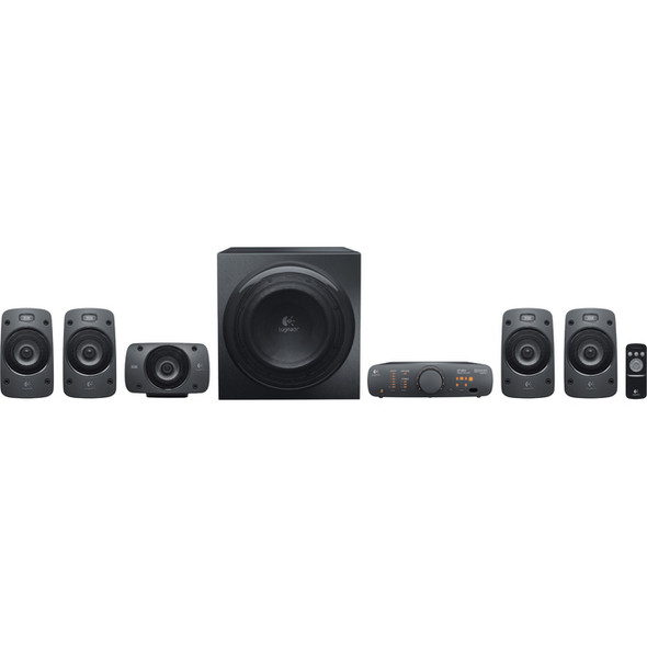 Logitech Z906 5.1 Speaker System - 500 W RMS - 980-000467