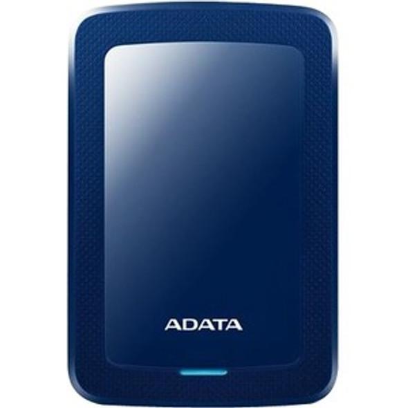 Adata HV300 1 TB Hard Drive - External - Blue - AHV300-1TU31-CBL
