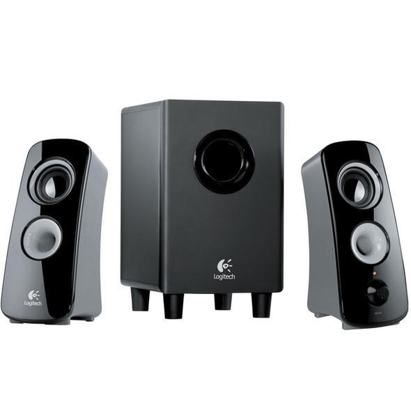 Logitech Z323 2.1 Speaker System - 30 W RMS - 980-000354