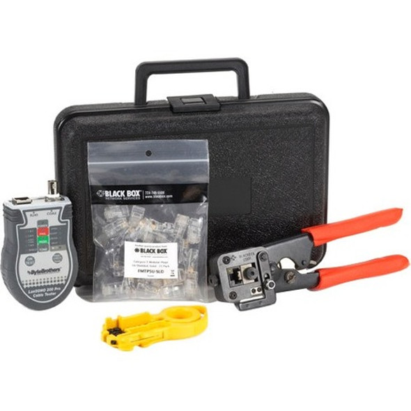Black Box CAT5 Termination Kit, Solid Wire - FT470A-R4