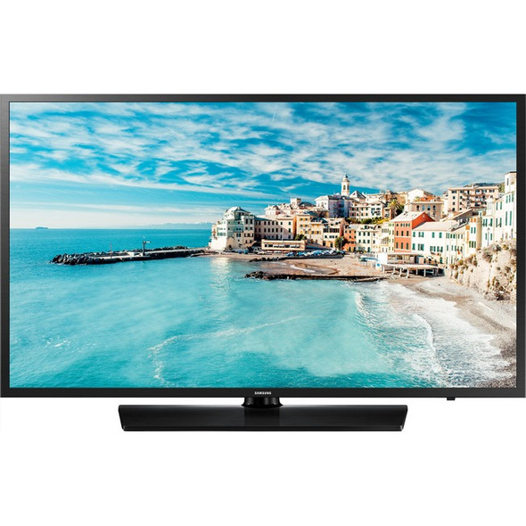 "Samsung 470 HG43NJ470MF 43"" LED-LCD TV - HDTV - Black Hairline - HG43NJ470MFXZA"