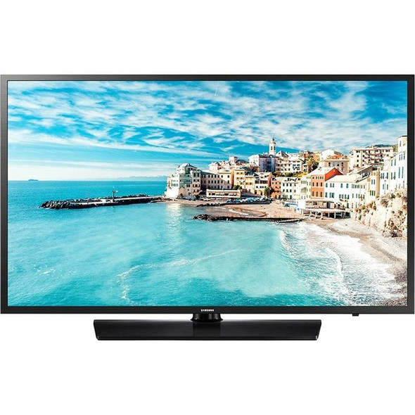 "Samsung 477 HG43NJ477MF 43"" LED-LCD TV - HDTV - Black Hairline - HG43NJ477MFXZA"