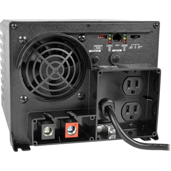 Tripp Lite 750W APS 12VDC 120V Inverter / Charger w/ Auto Transfer Switching ATS 2 Outlets - APS750