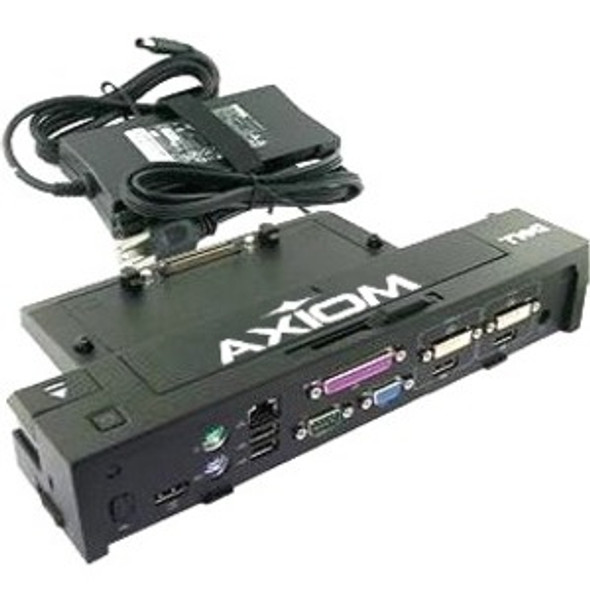Axiom E-Port Plus Replicator USB 3.0 w/130-Watt Power Adapter Cord for Dell - 331-6304-AX