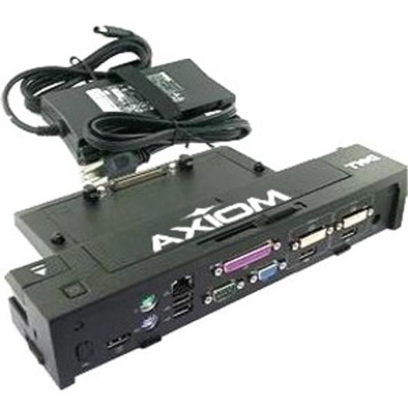 Axiom E-Port Plus Replicator USB 3.0 w/130-Watt Power Adapter Cord for Dell - 331-6304-AX