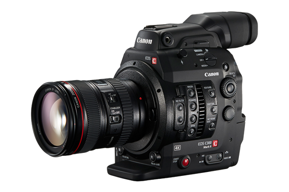 Canon EOS C300 MK II PL Mount Digital Cinema Camera Kit
