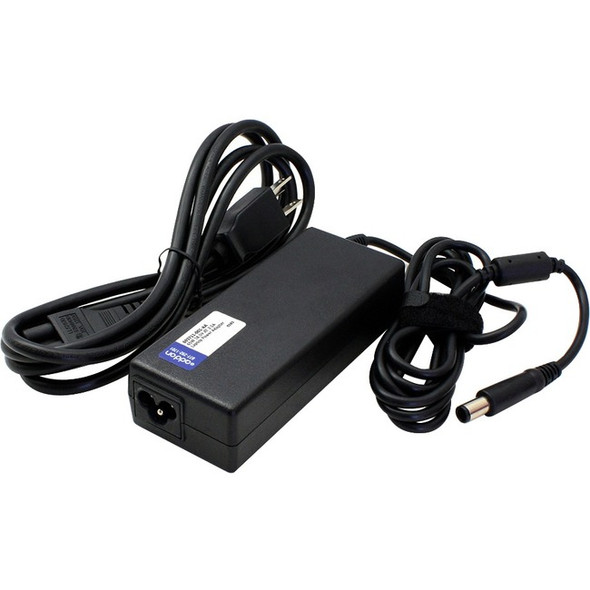 AddOn HP 693711-001 Compatible 65W 18.5V at 3.5A Laptop Power Adapter and Cable - 693711-001-AA