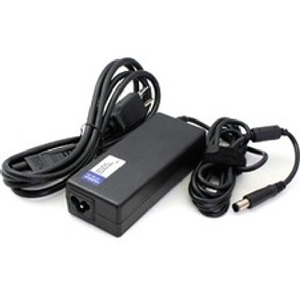 AddOn HP 742437-001 Compatible 45W 19.5V at 2.31A Laptop Power Adapter and Cable - 742437-001-AA
