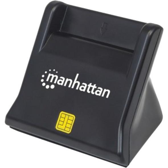 Manhattan Standing USB 2.0 Smart/SIM Card Reader - 102025