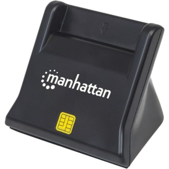 Manhattan Standing USB 2.0 Smart/SIM Card Reader - 102025