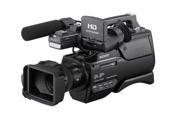 Sony HXR-MC2500 - Camcorder - 1080p - 6.59 MP - 12x optical zoom - flash 32 GB - flash card - Wi-Fi,NFC