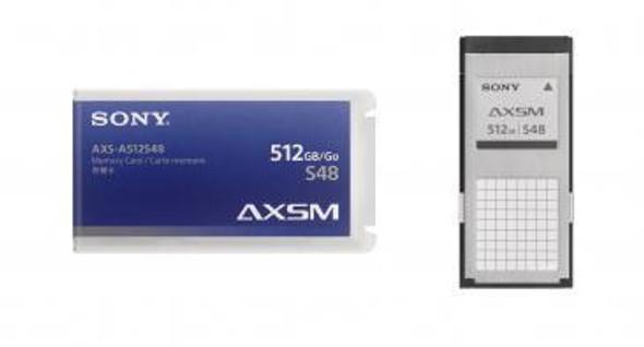 Sony A-Series AXS-A512S48 - Flash memory card - 512 GB - for Sony AXSCR1, AXSR5, AXSR7, CineAlta PMW-F5, PMW-F55, XDCAM PXW-FS7, PXW-FS7K