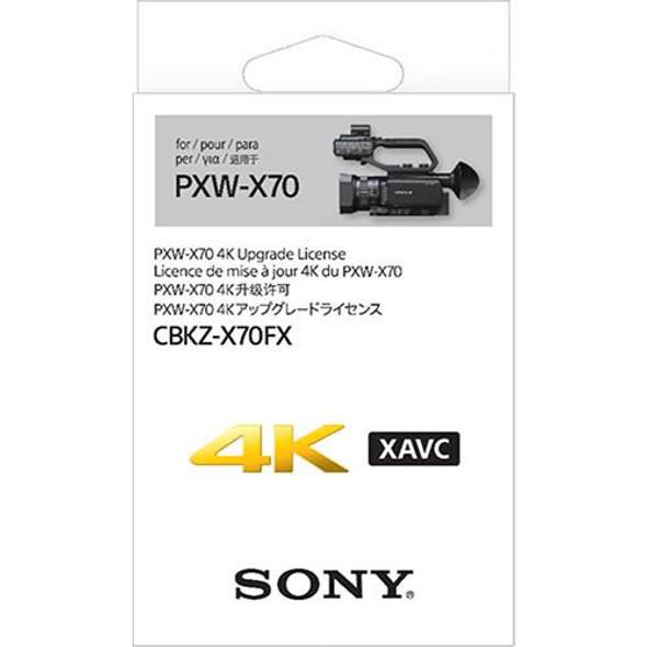 Sony PXW-X70 4K - Upgrade license - 1 camera