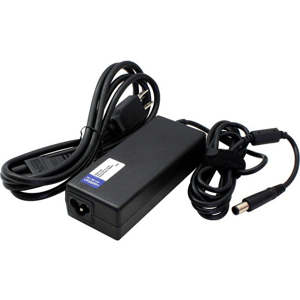 AddOn Microsoft Q4Q-00001 Compatible 65W 15V at 4A Laptop Power Adapter and Power Cable - Q4Q-00001-AA