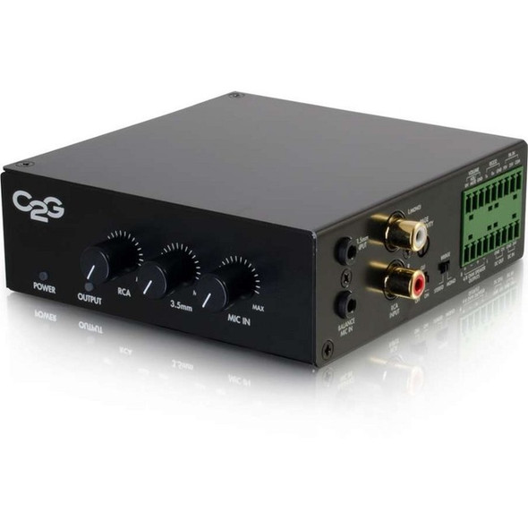 C2G Amplifier - 50 W RMS - Black - 40880