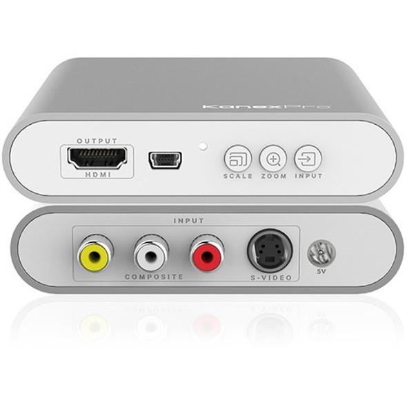 KanexPro Composite/ S-video to 4K HDMI Converter - CON-AV-HD4K