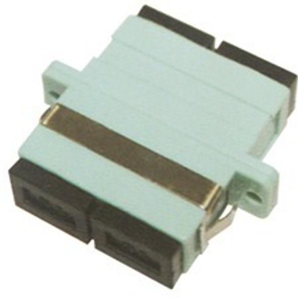 AddOn SC Female to SC Female MMF OM3 Duplex Fiber Optic Adapter - ADD-ADPT-SCFSCF3-MD