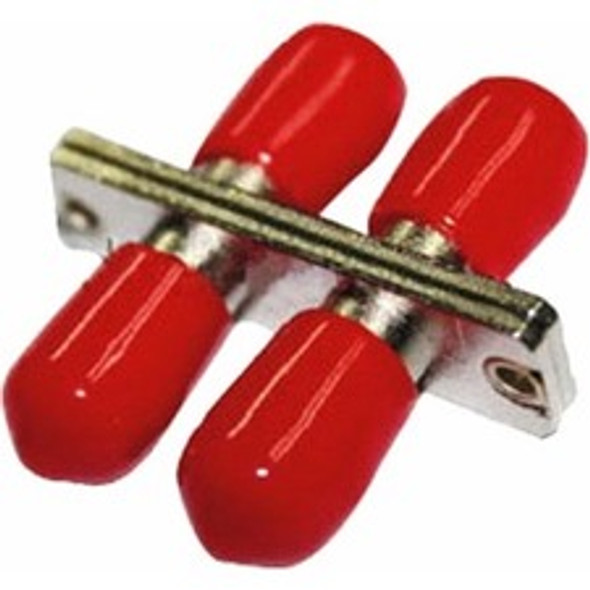 AddOn ST Female to ST Female MMF Duplex Fiber Optic Adapter - ADD-ADPT-STFSTF-MD