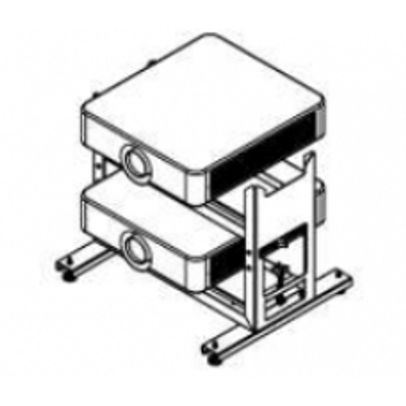 Sony PAM650DS - Mounting component (double stack frame) for projector - for VPL-FH65, FH65L, FHZ65, FHZ65L, FW65, FWZ65