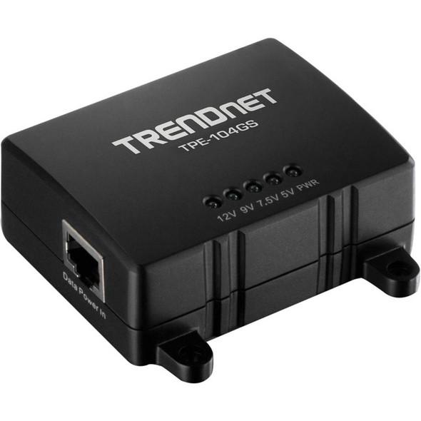 TRENDnet Gigabit PoE Splitter - TPE-104GS