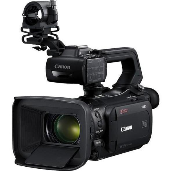 """Canon XA55 1"""" CMOS 4K UHD Pro Camcorder, 15x Optical Zoom Lens, 3G-SDI Output"""