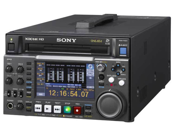Sony PDW-F1600 - Disk drive - PD - external