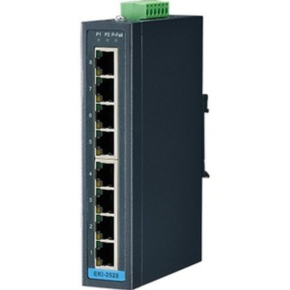 Advantech 8-Port Ethernet Switch - EKI-2528-BE