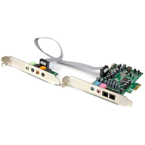 StarTech 7.1 Channel Sound Card - PCI Express - 24-bit - 192KHz - PEXSOUND7CH