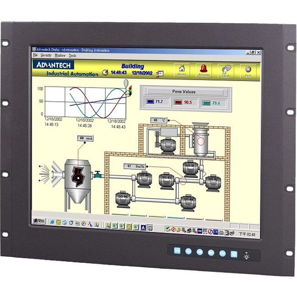 "Advantech FPM-3191G 19"" Open-frame LCD Touchscreen Monitor - FPM-3191G-R3BE"