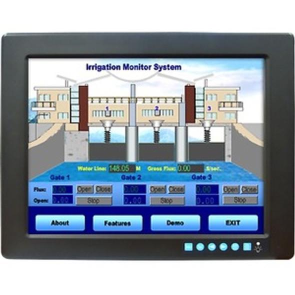 "Advantech FPM-3121G 12.1"" LCD Touchscreen Monitor - 11 ms - FPM-3121G-R3BE"