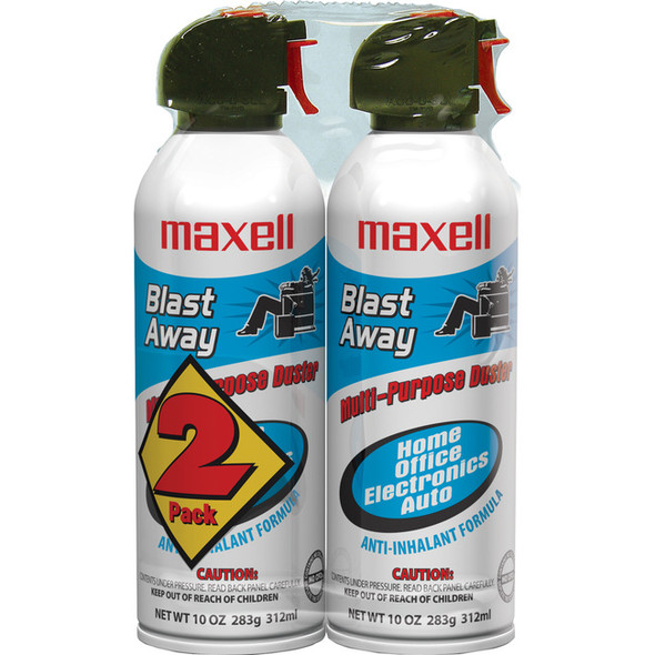 Maxell CA-4 Blast Away Canned Air Duster - 190026