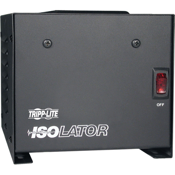 Tripp Lite 500W Isolation Transformer with Surge 120V 4 Outlet 6ft Cord TAA GSA - IS500