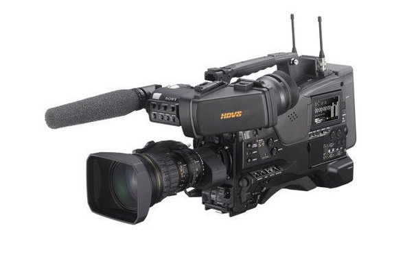 Sony XDCAM PXW-X500 - Camcorder - 1080p / 60 fps - body only - flash card - Wi-Fi
