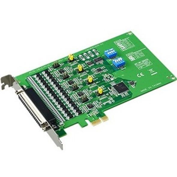 B+B SmartWorx 4-port RS-232/422/485 PCI Express Communication Card w/Surge - PCIE-1612B-AE