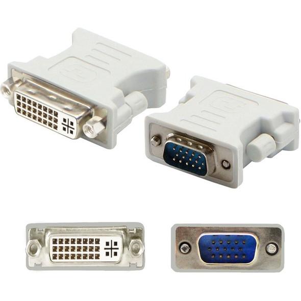 AddOn 5-Pack of VGA Male to DVI-I Female White Adapters - VGA2DVIW-5PK