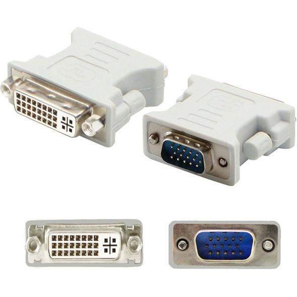 AddOn VGA Male to DVI-I Female White Adapter - VGA2DVIW