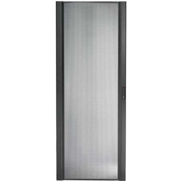 APC by Schneider Electric NetShelter SX 48U 600mm Wide Perforated Curved Door Black - AR7007A