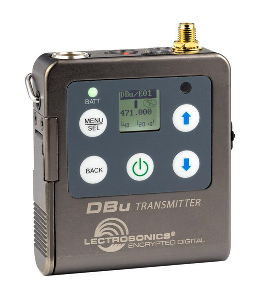 Lectrosonics 24bit/48kHz Digital Conversion Belt-pack Transmitter