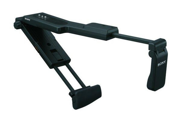 Sony VCT-SP2BP - Support system - shoulder support - for Sony HVR-V1P, NXCAM HXR-NX5R, NEX-FS100, FS700, XDCAM PXW-FS5, FS5K, FS5M2, FS5M2K, Z150