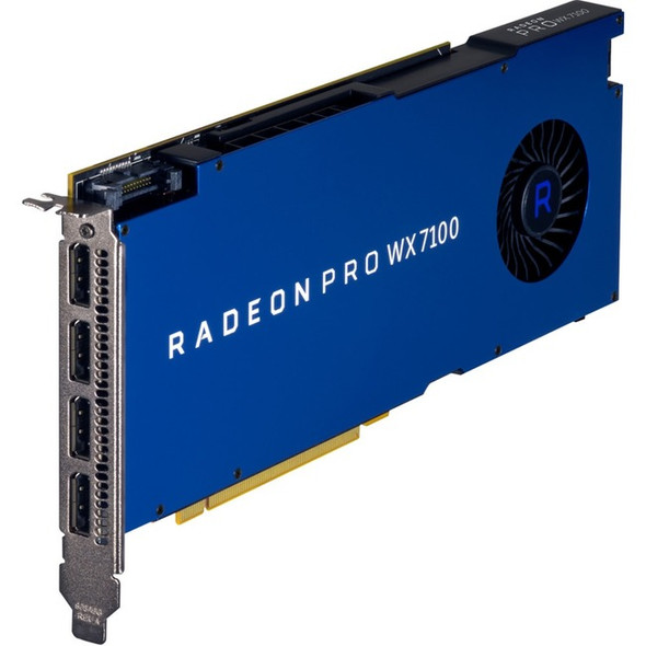 HP Radeon Pro WX 7100 Graphic Card - 8 GB GDDR5 - Z0B14AT