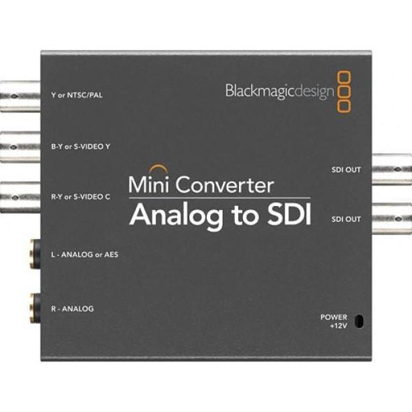 Blackmagic Design CONVMAAS2 Mini Converter Analog to SDI