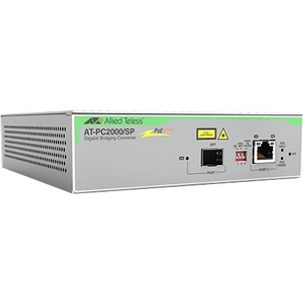Allied Telesis PC2000/SP Transceiver/Media Converter - AT-PC2000/SP-90