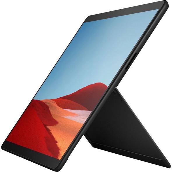 "Microsoft Surface Pro X Tablet - 13"" - 8 GB RAM - 256 GB SSD - Windows 10 Home - 4G - Matte Black - MNY-00001"