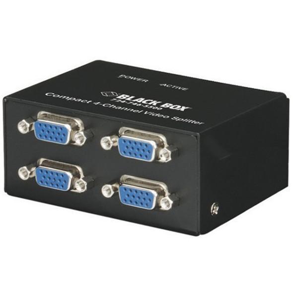Black Box AC1056A-4 Compact Video Splitter - AC1056A-4