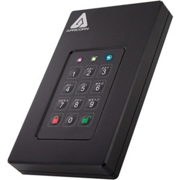 Apricorn Aegis Fortress 512 GB Solid State Drive - External - AFL3-S500